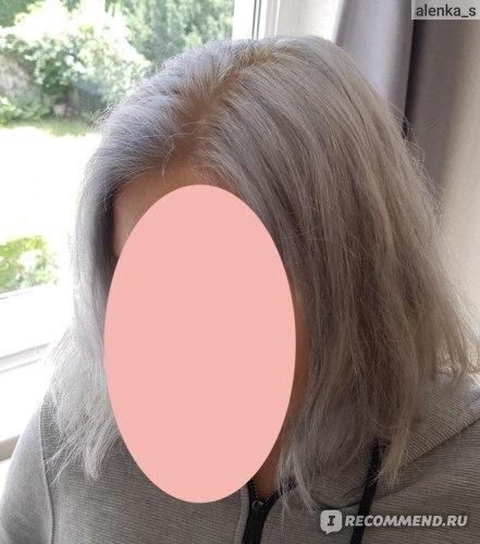 волосы сразу ПОСЛЕ
