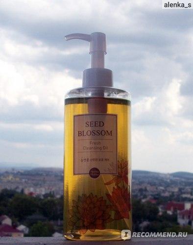 Гидрофильное масло Holika Holika Seed Blossom Cleansing Oil фото
