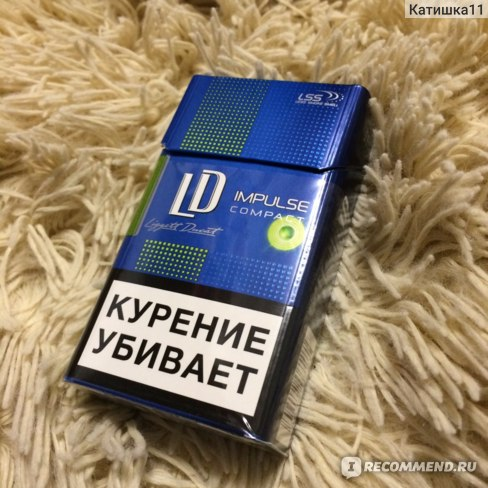 Сигареты LD IMPULSE COMPACT фото
