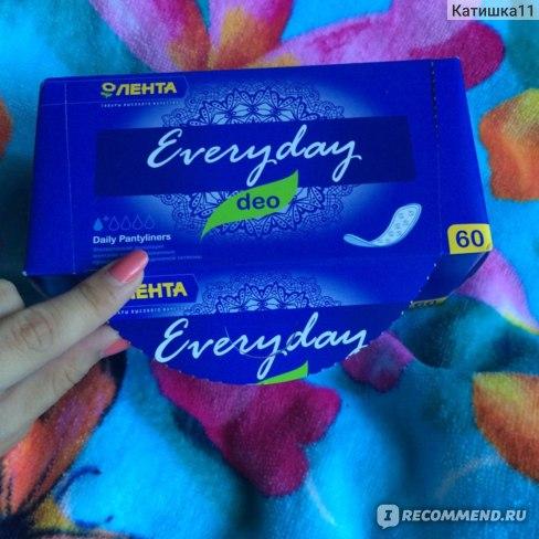 Прокладки ежедневные Лента Everyday deo ультратонкие фото