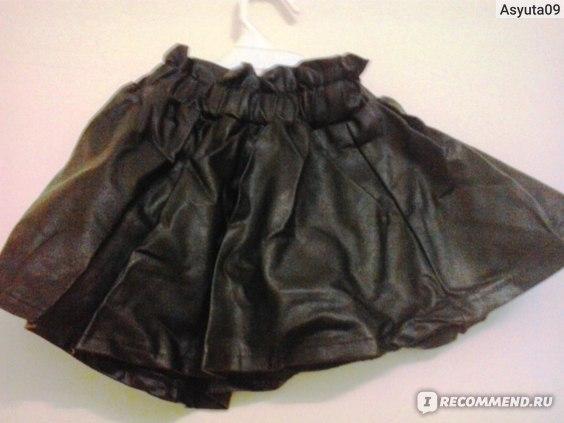 Комплект для девочек AliExpress 2014 Autumn Baby Girl Clothing Set Bow Solid Cute Children Suit 2PCS Long-Sleeve Coat + Leather Skirt Princess Sweet Twinset фото
