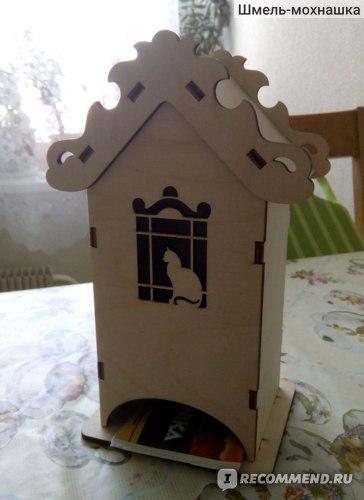 Чайный домик- Кошка на окошке