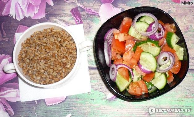 Гречневая Диета Огурцы. Особенности диеты на гречке с овощами
