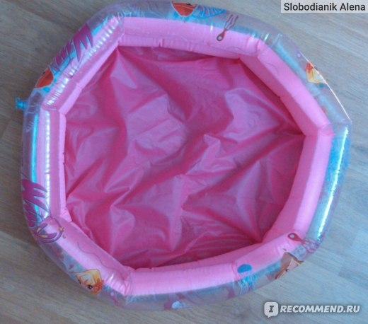Детский бассейн Rainbow Winx club 61cm×15cm фото