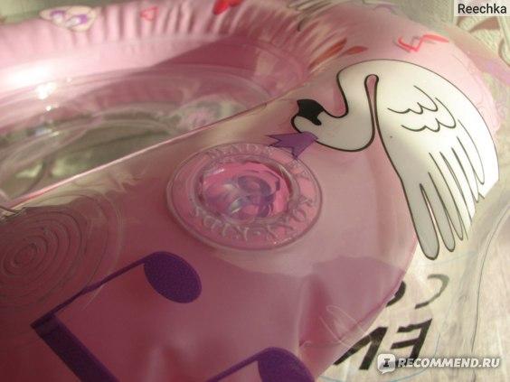 """Круг на шею для плавания Roxy Kids Flipper """"Лебединое озеро"""" музыкальный фото"""