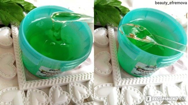 Маска для лица Organic kitchen Фруктовый лед  фото