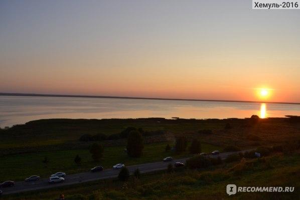 Закат с Александровой горы