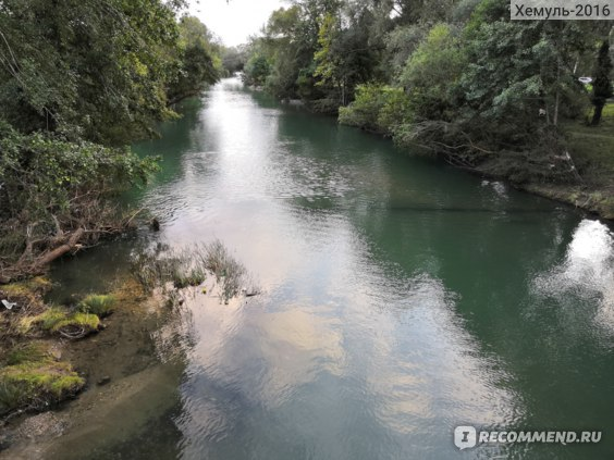Река, впадающая в Архипо-Осиповке