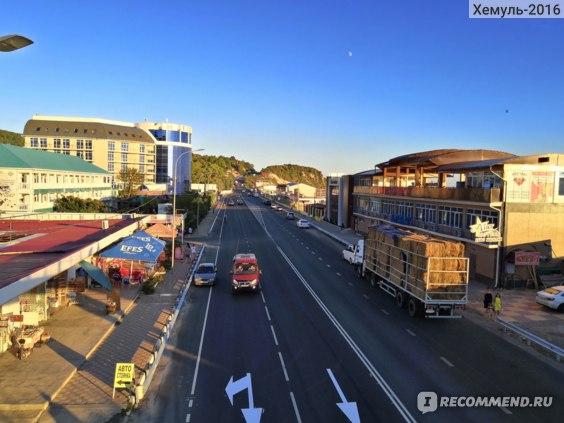 Трасса в районе Лермонтово
