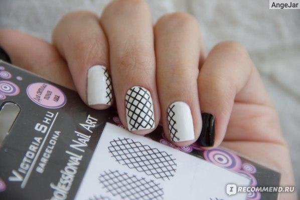 Наклейки для ногтей Victoria Shu NS008 фото