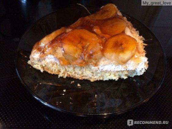 Торт Бисквитный двор Банановый рай фото