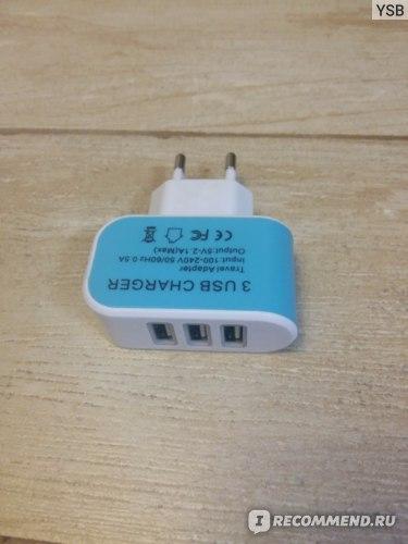 Переходник с USB разъемами
