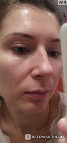 После умывания без использования крема