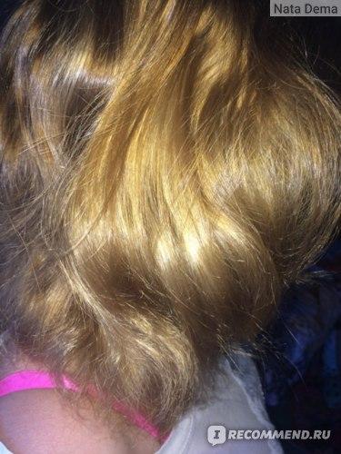 Волосы после месяца использования, гладкие и блестящие)