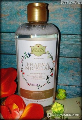 "Мицеллярная вода GREEN PHARMA ""Фармамицелла"" для всех типов кожи, глаз и губ фото"