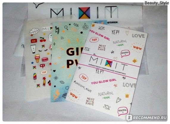 Сайт mixit.ru - лаборатория современной косметики - «И я ...