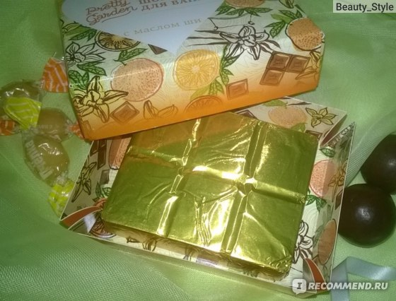 шоколад для ванной Pretty Garden