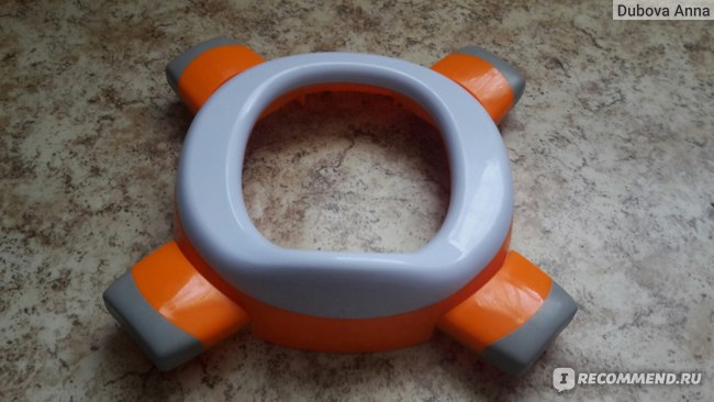 Roxy Kids 2 в 1: дорожный горшок и насадка на унитаз HandyPotty фото