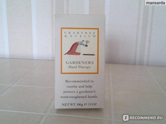 Крем для рук Crabtree & Evelyn  Gardeners Hand Therapy  фото