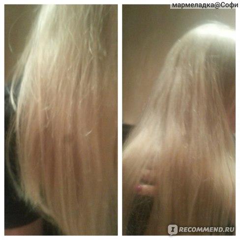 волосы перед кератиновым выпрямлении. неделю назад подстригла кончики на 3см.