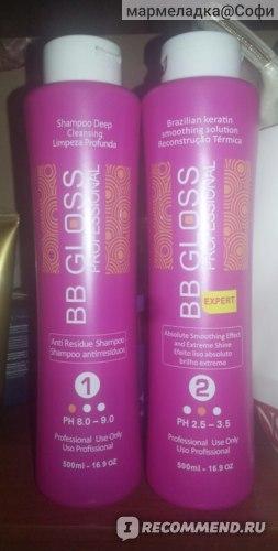 шампунь для глубокой очистки волоса и керотин