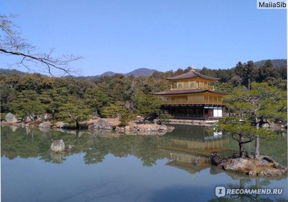 Золотой храм Кинкакудзи