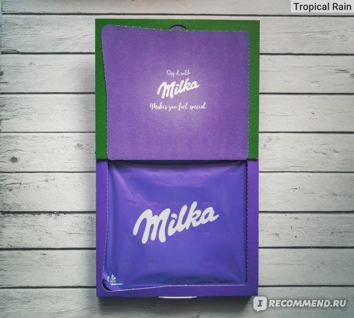 Конфеты Milka Magic Winter из молочного шоколада с молочной начинкой
