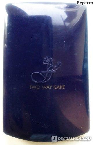 Пудра FFLEUR TWO WAY CAKE фото