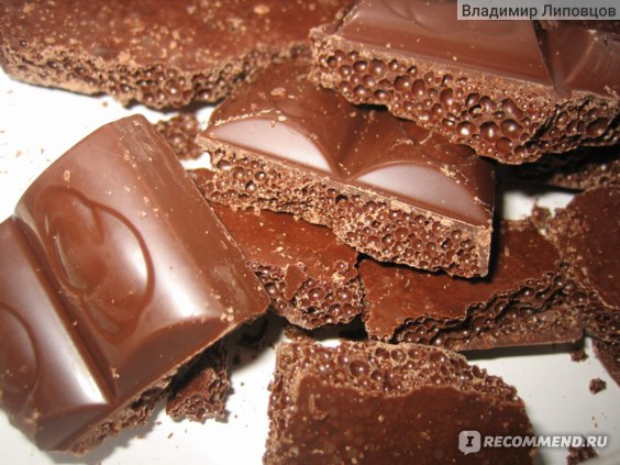 Пузырьки вкусные, шоколад - бяка