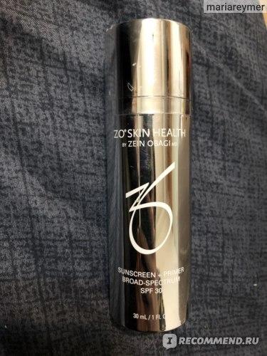 Санскрин для лица ZO skin health Sunscreen + primer broad-spectrum spf 30 фото