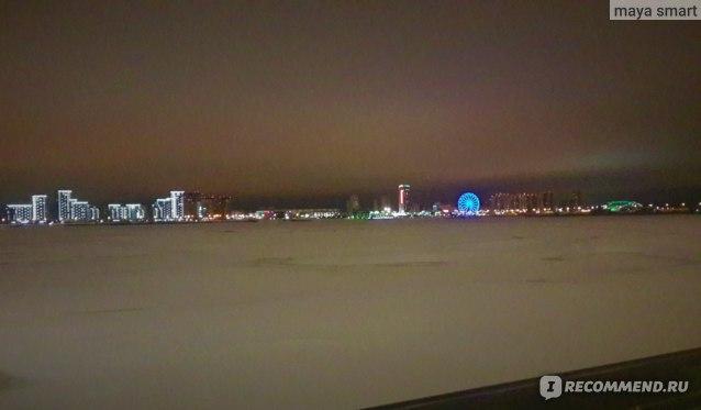 Вид на Казанку зимой
