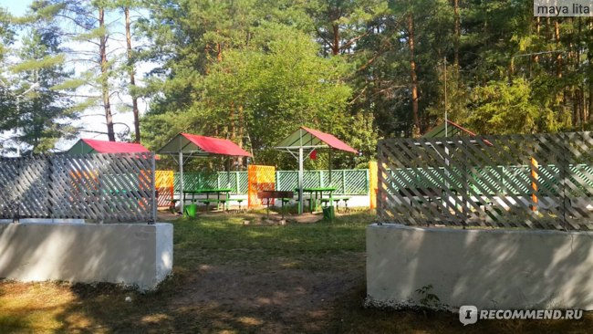 Специальная площадка для приготовления шашлыков