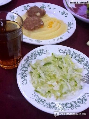 Пример ужина