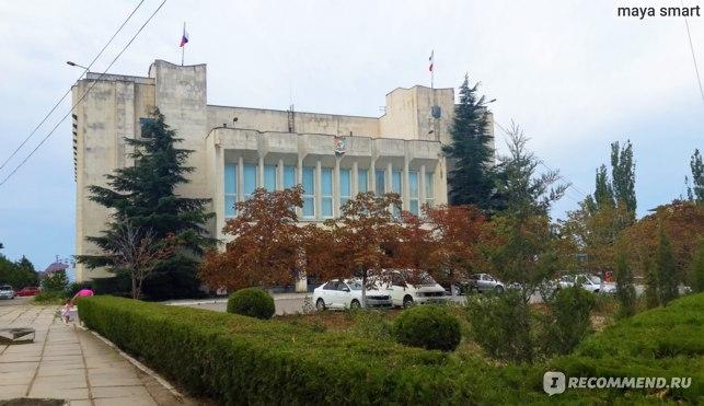 Здание администрации г.Судак