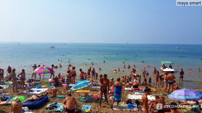 Пляж, г.Судак
