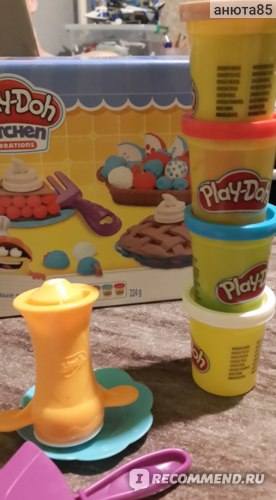 Play-Doh Kitchen creations фото