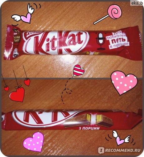 Шоколадный батончик Nestle KitKat фото