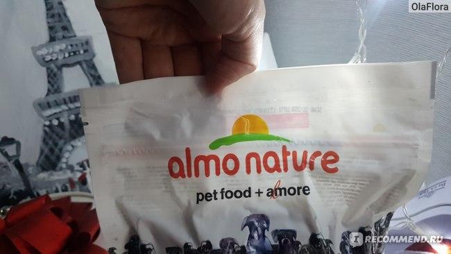 Корм для собак Almo Nature со свежим лососем и рисом (50% мяса) для собак карликовых и мелких пород, Alternative Fresh Salmon and Rice XS-S фото