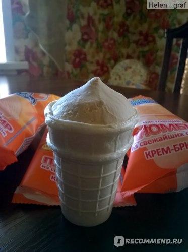 Мороженое Коровка из Кореновки Крем-брюле фото