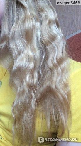 И мои волосы вблизи напоследок. Конечно, они еще не идеальны, и кое-что придется отрезать. Но поверьте, для меня это уже отличный результат :))