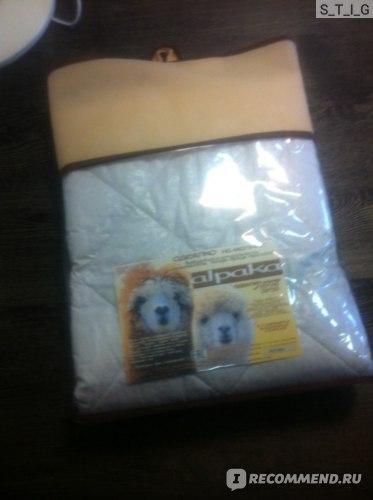 Одеяло в упаковке