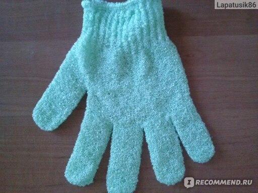 Перчатка для пилинга Buyincoins 1PCS Bath Shower Exfoliating Soap Foam Gloves Massager Scrubber SPA фото