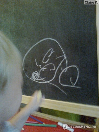 сын нарисовал машинку :)