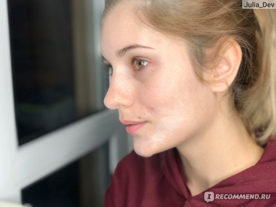 Спустя 15 секунд. Ночная маска для лица Skinlite Пузырьковая, Интенсивное обновление O2
