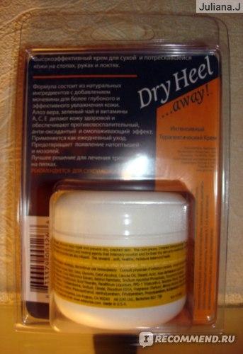 Крем для рук и ног Esteemia Dry Heel Интенсивный Терапевтический фото