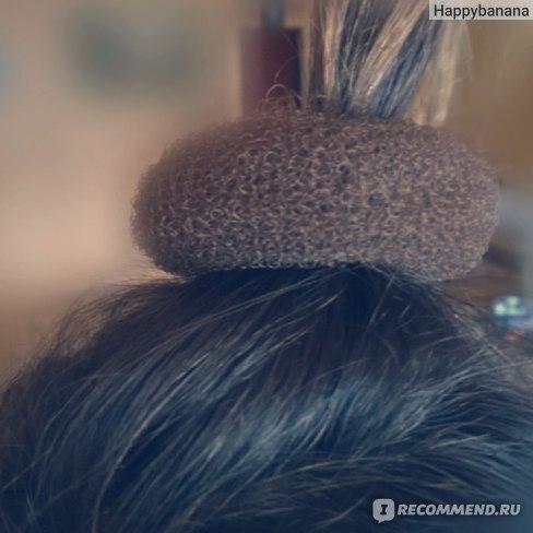 Резинка-бублик Tinydeal  Long Hair Twister фото