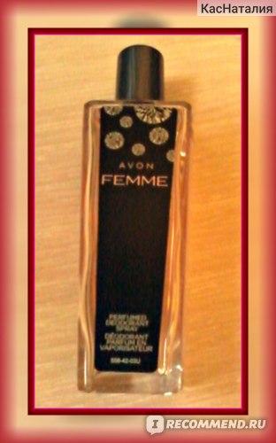 Спрей для тела Avon Дезодорирующий серии Femme фото