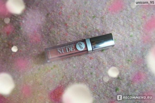 Блеск для губ Bell Glam Wear Nude фото