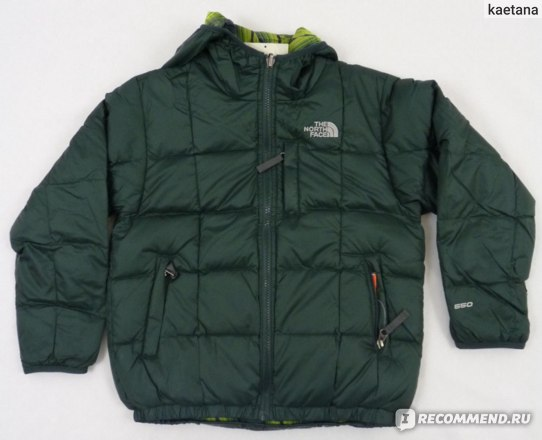 Пуховик The north face reversible moondoggy jacket фото