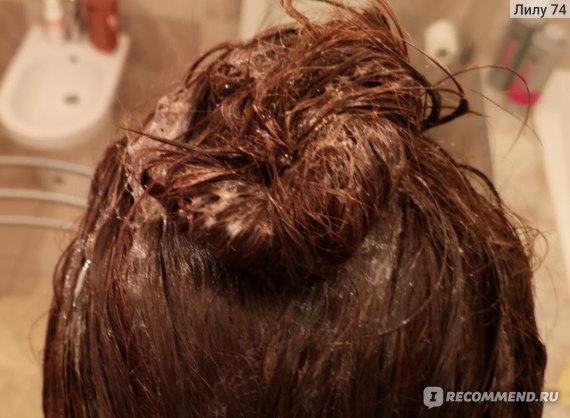 Волосы с восстанавливающим уходом